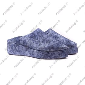 wedge heel slipper