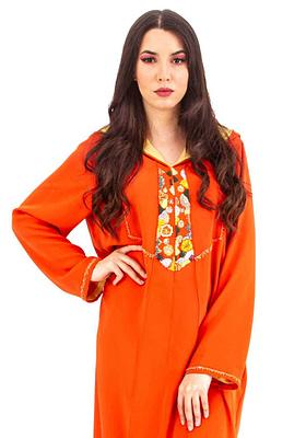 Caftan-Dress Marocain en Dress Marocain